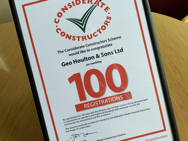 Considerate Constructors   100 Certfificate 2