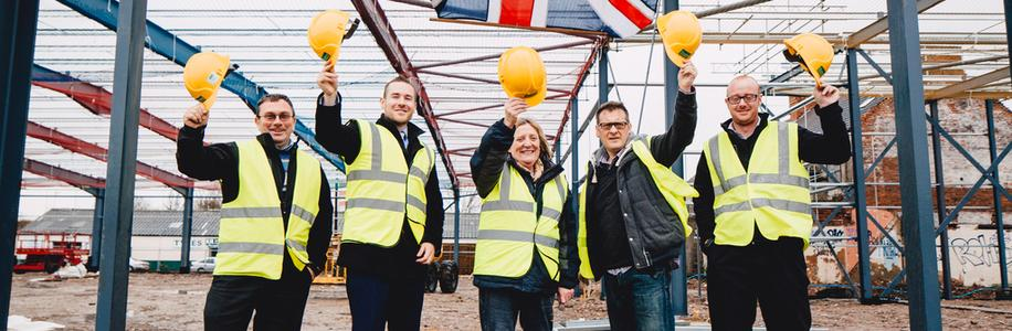 Mount Pleasant Development Topping Out