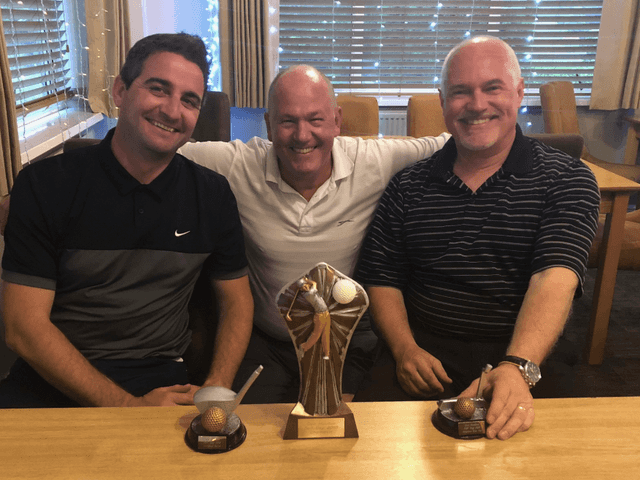 Inaugural Golf Day Prize Winners