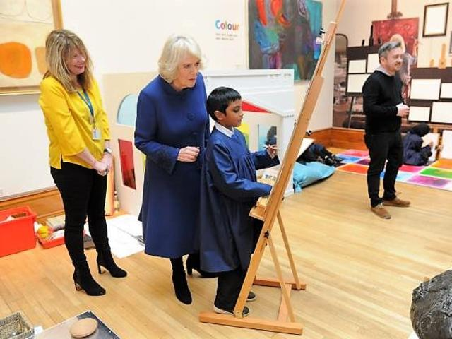 Duchess of Cornwall at Ferens Art Gallery