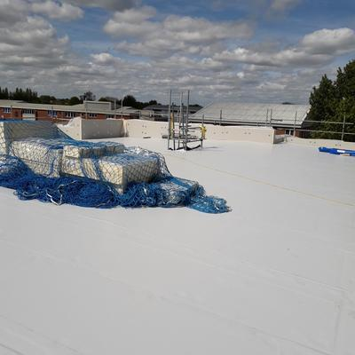 St Mary's College - Roof sheeting