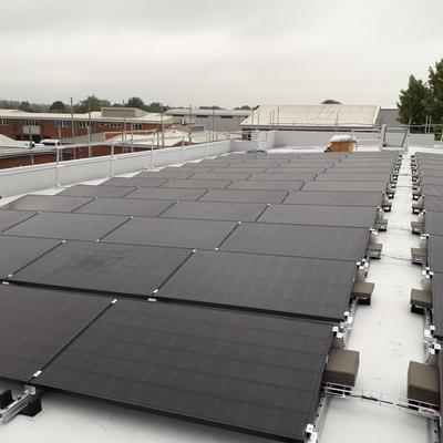 St Mary's College - Photo voltaic panels