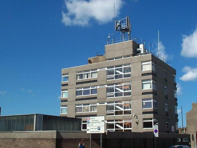 Scarborough Police Station before refurbishment