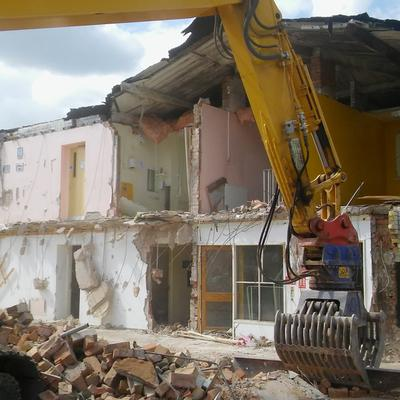 Hugh Webster Place - Demolition