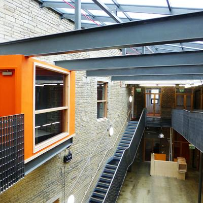Orange Box Atrium