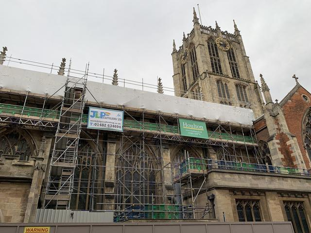 Hull Minster's Transformation Continues