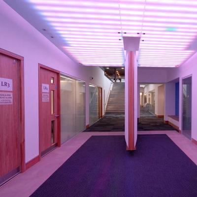 University of Hull Wilberforce Building Entrance Corridor
