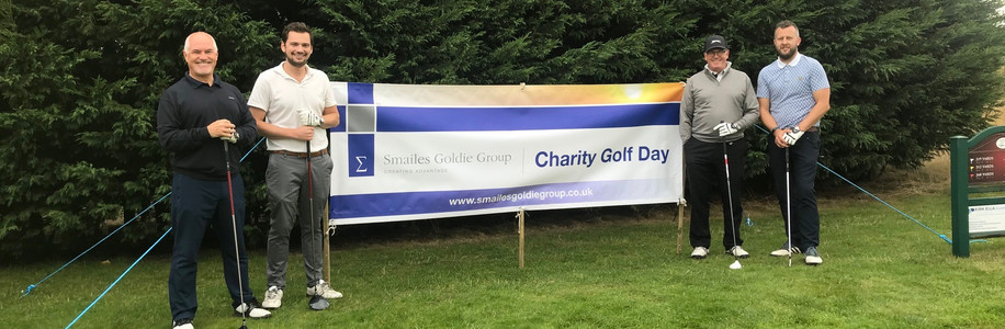 Houlton Support Smailes Goldie Charity Golf Day