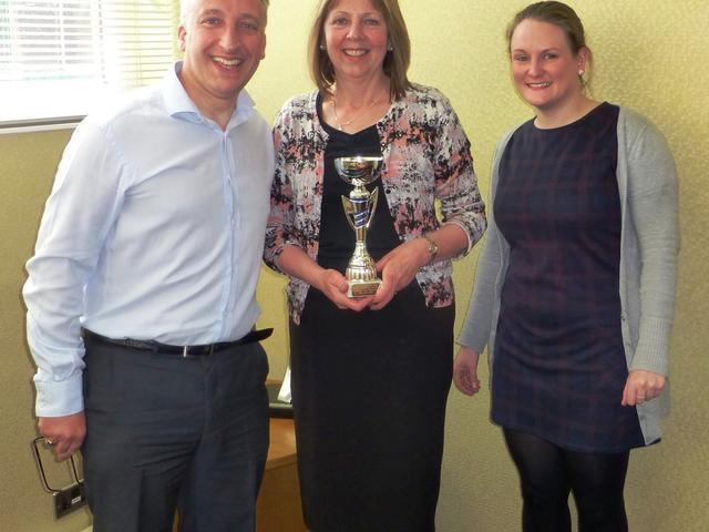David Peace (ICT Manager), Pam Stephenson (Construction Admin) – both from Houltons and Eleanor Walker (Union Square Account Manager)