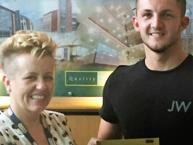 Josh Hunter Receives His Invite From The CITB