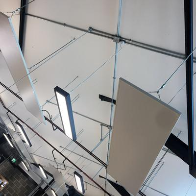 Pocklington School Completed Workshop Ceiling