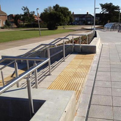 Holderness Learning Centre Entrance Pavings