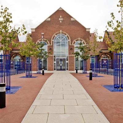 Carcroft School New Main Entrance