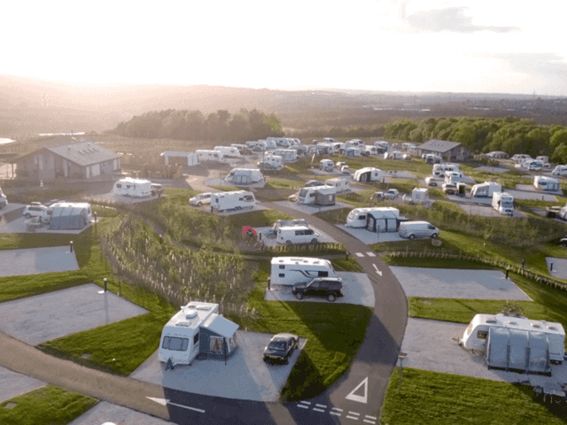Waleswood Caravan & Camping Park, Rother Valley