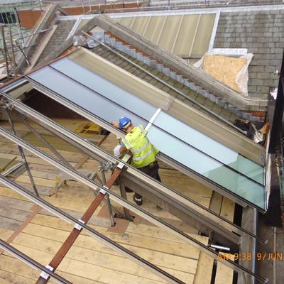 Ferens Art Gallery Roof Light Installation