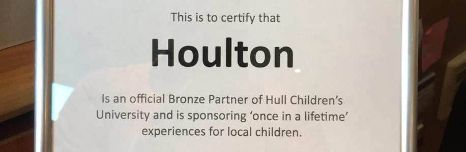 Houlton and Hull Children's University Officially Launch Their Partnership