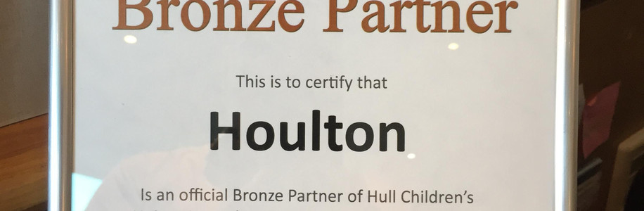 Hull Children's University Bronze Certificate