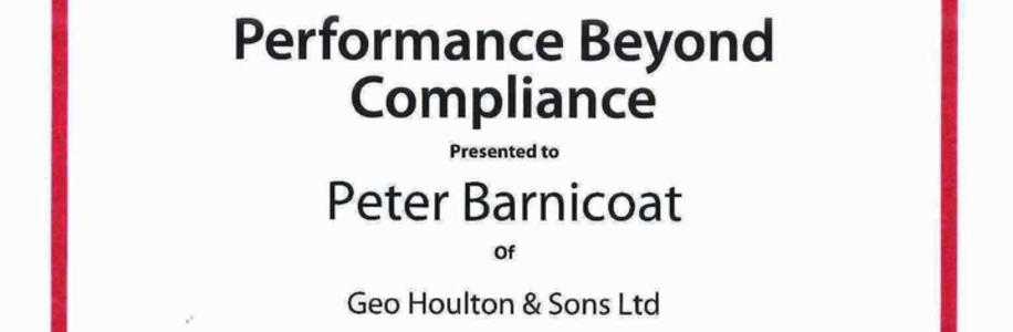 Performance Beyond Compliance Grimsby Institute