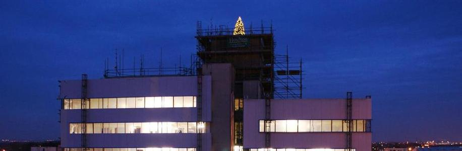 Hull Trinity House Academy Site Christmas Tree