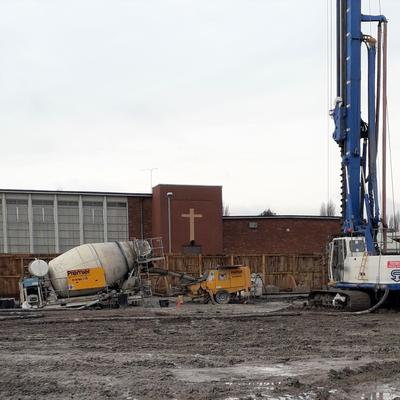 St Mary's College - Pile foundations