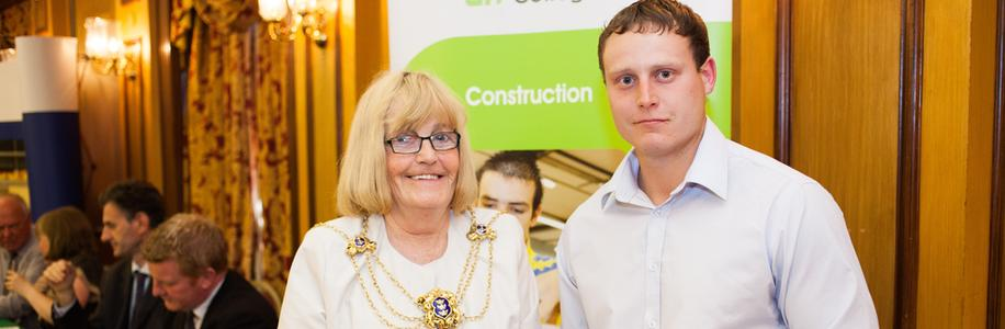 Hull College of Construction Awards  June 2013 - Scott Walster