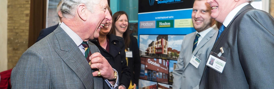 Prince Charles visits Goodwin Development Trust
