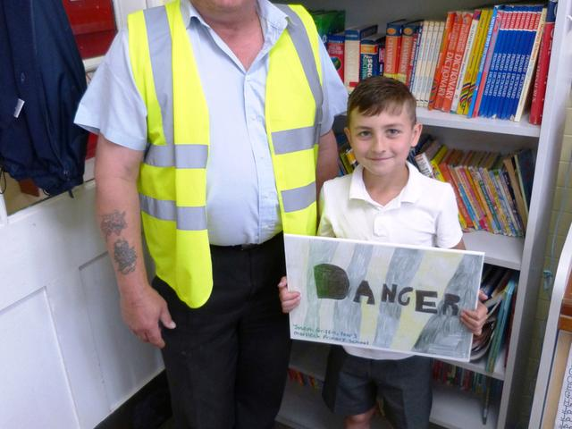 Houlton Health and Safety Site Poster Competition Winner Marfleet Primary School