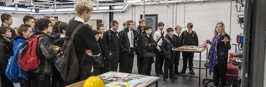 Houlton Support East Riding College Careers Event