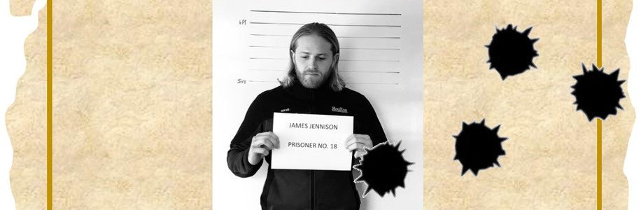 Fundraising Jimmy Jennison Looks Set to Spend Time Behind Bars in Charity Lock Up