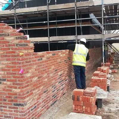 Lime Mortar Brick Walling