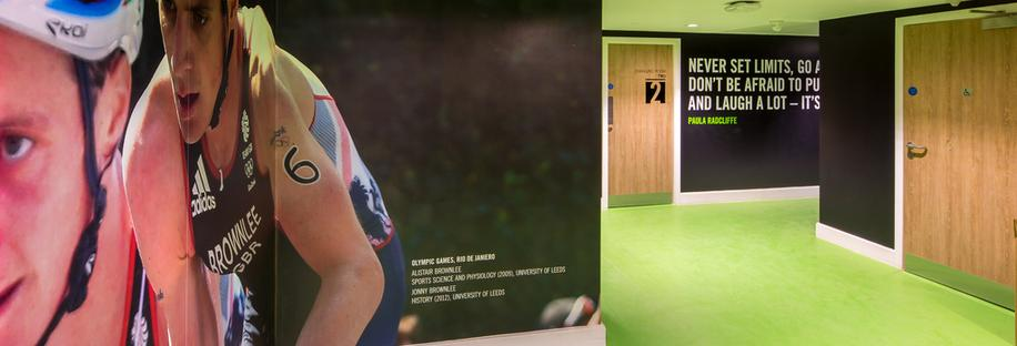 University of Leeds Cycle Track and Sports Pavilion Refurbishment to Create the Brownlee Centre