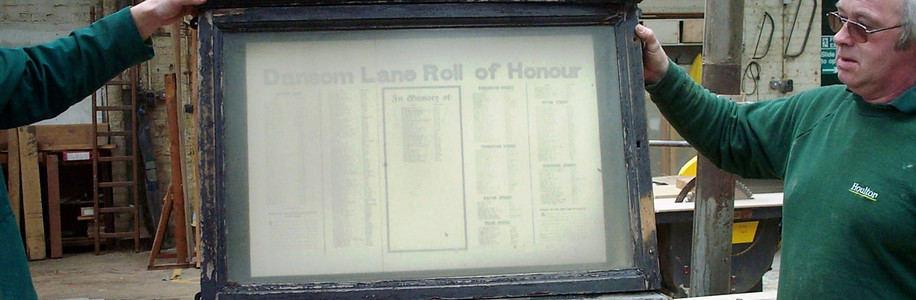 1st World War Roll of Honour Restored