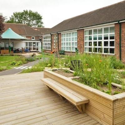 Owston Primary School Doncaster Courtyard