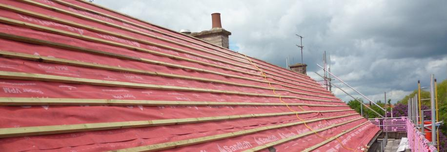 Council House Re-roof Programme 2014