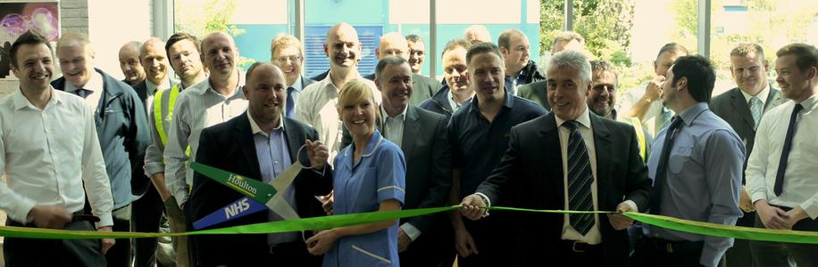 HRI A+E Ribbon Cutting