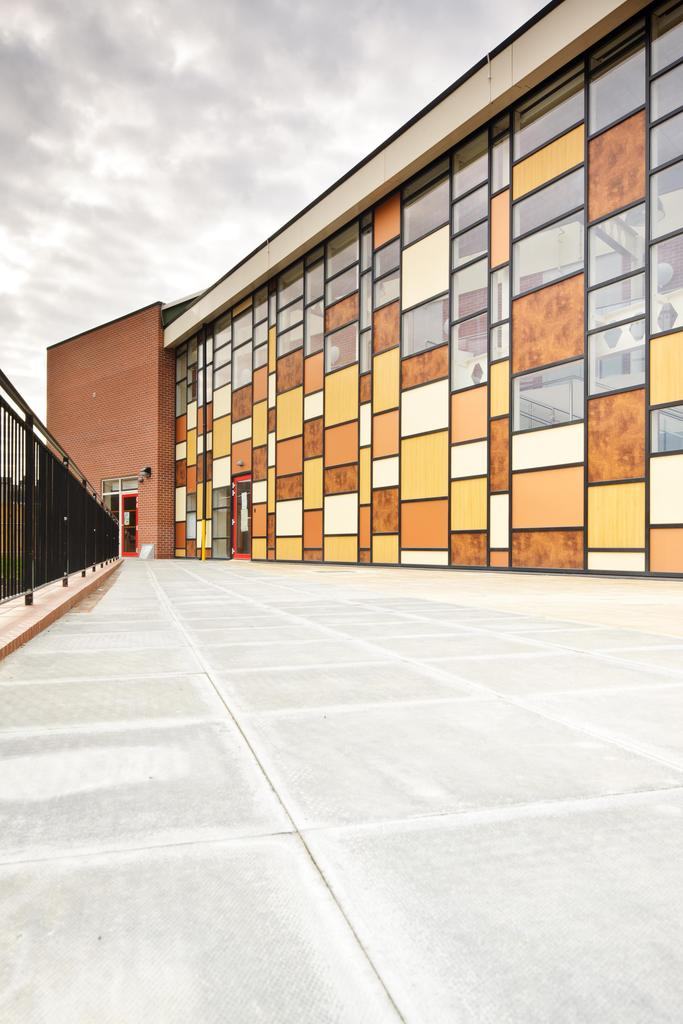 D Front Elevation Of School : Edward heneage primary school grimsby quality