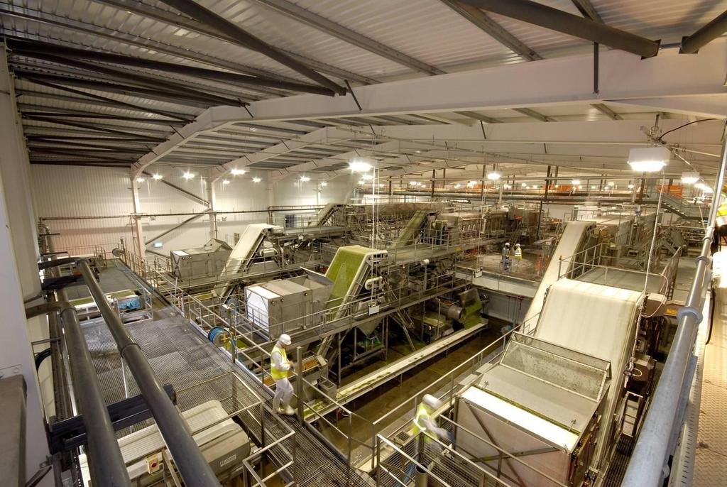 Pea Processing Plant Quality Construction Built On