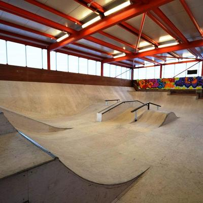 Orange Box Skateboard Park