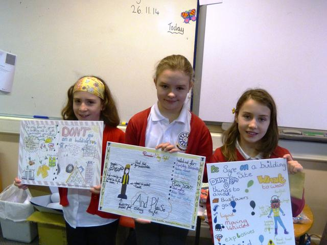 Walkington Primary School Safety Competition Winners
