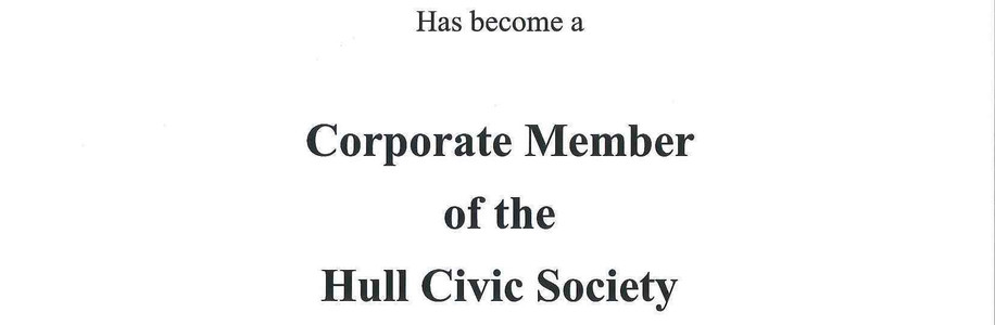Hull Civic Society Certificate