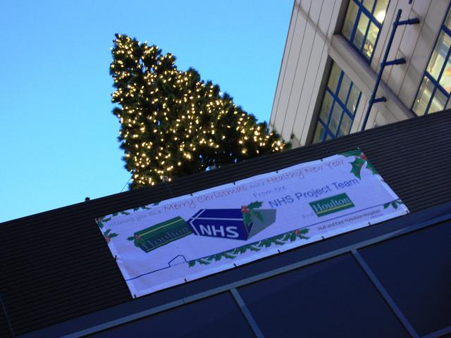HRI Tower Block North - Christmas Tree Switch on