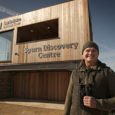 Spurn Discovery Centre   Simon King OBE