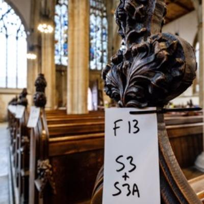 Holy Trinity Church - Pew Labelling