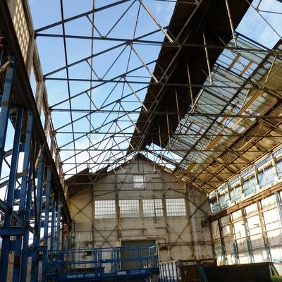 Shipham Valves Foundry Re-roofing