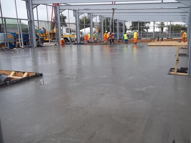 Blender Satellite Centre Floor Slab
