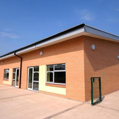 Willerby Carr Lane Primary School Rear Elevation