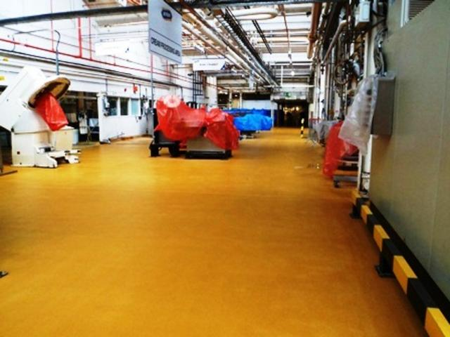 Line 19 Completed Resin Floor